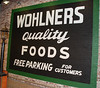 Wohlners opening Oct. 14, 2008 : Opening of Wohlner's Neighborhood Grocery, Oct. 14, 2008, and setup on Oct. 13.
