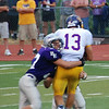 Bellevue East vs Bellevue West : Bellevue East vs Bellevue West 8/24/12. West won 29-26 in OT.